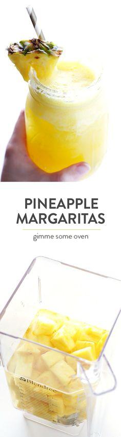 Pineapple Margaritas.