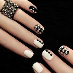 20000 Pcs Clear Glitter Rhinestone DIY Nail Art Decoration Tips (€3,58) ❤ liked on Polyvore featuring beauty products, nail care, nail treatments, nails, nail polish, beauty and makeup