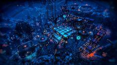 Science Fiction Games, Sci Fi City, No Man's Sky, Fantasy City, Futuristic City, Star Wars Ships, City Aesthetic, Modern City, Future City