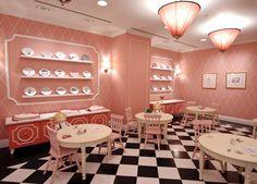 Tea Time for Glam Girls : ELLE