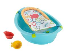 The Fisher-Price Rinse & Grow Bath Tub is a tub that will make bath time comfortable, safe, and fun for your newborn through toddler. It features an adjustable bath sling that can be removed when your baby enters the toddler stage. Fisher Price, Bath Toy Storage, Toy Storage Bags, Toys R Us, Best Baby Bath Products, Baby Tub, Baby Shower, Young Baby, Bath Toys