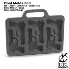 Cool Silicone Pop Culture Ice Molds