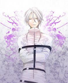 Makishima in a straight jacket. Hes just....sooooo amazingly attractive.