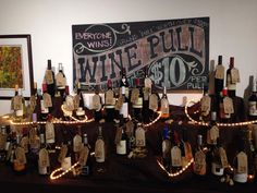 Western wine pull display #winetrivia