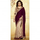 Sarees I have seen and would love to wear something of that sort one day!