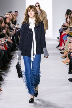1. Winter NYFW 2. Unknown 3.http://www.nytimes.com/slideshow/2016/02/17/fashion/runway-womens/michael-kors-fall-2016-rtw/s/michaelkors-fall-2016-rtw-slide-NNJT.html?smid=pin-share 4. Military, Daring and bold! 5. Fringe, Risky