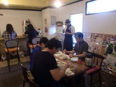 2014年7月13日のたまねぎ食堂(テーマは中華です)でのひとコマです!!