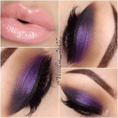 Stunning Smokey Purple Look With Anastasia Beverly Hills 'Self-Made' Palette and Lip Gloss in 'Dainty!'