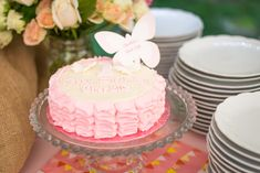 Charlotte's Butterfly Garden Party by peonyparty #pinkparty
