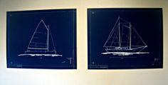 The Lily Pad Cottage: Blueprint Art