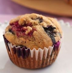 Diabetic Almond Berry Muffins Recipe from Diabetic Gourmet Magazine, plus many more recipes for a healthy diabetic diet.
