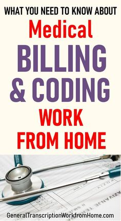 What you need to know about work from home coding jobs and how to get medical billing and coding work from home. Medical billing and coding is a great career in the healthcare industry with a lot of advancement opportunities. Medical Billing And Coding, Medical Transcription Jobs, Medical Coder, Medical Careers, Medical Coding Classes, Medical Coding Certification, Health Advice, Health Care, Daily Health Tips