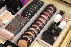 organized blush drawer