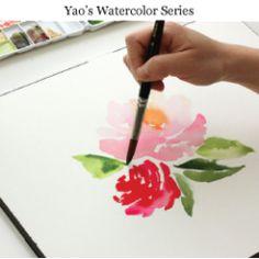 The Alison Show: Watercolor tutorial pt. 1: BASICS SUPPLIES