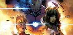 """A capa da edição #0 de Guerra Civil II, ilustrada pelo artista Olivier Coipel, foi revelada. Ela traz a Capitã Marvel e o Homem de Ferro – os dois personagens que estarão em lados opostos na nova saga. Além deles, a capa mostra a Mulher-Hulk e o Maquina de Combate. """"Há uma razão para que …"""