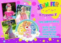 Care Bears Invitation Birthday Party  by InvitationForParty, $8.99