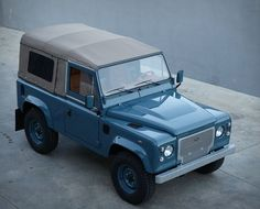 If we were to describe perfection, we´d probably use these images. The guys over at Cool & Vintage have restored another one of a kind vehicle, this beautiful Land Rover D90 Heritage is in pristine condition, was fully restored to the highest sta
