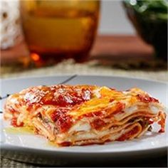 Oven-Ready Lasagna with Meat Sauce and Bechamel - Allrecipes.com
