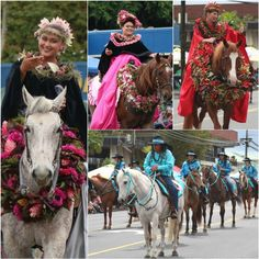 49fcbfad Highlights from the 55th Annual Merrie Monarch Royal Parade in Hilo, Hawaii.  Merrie Monarch