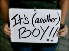 it'll be boy number 3 for our growing family, and we could not be happier!