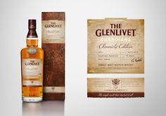 The Glenlivet Chronicle Edition Packaging Design