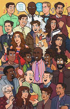 Brooklyn Nine Nine Series Movies, Tv Series, Hunger Games, Brooklyn Nine Nine Funny, Jake Peralta, Parks N Rec, Chernobyl, Anime, Movies Showing