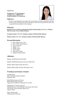 [ Lady Lee Bunsuran Pandi Bulacancell Phone Letter For Ojt Accounting Ahperfectpetals ] - Best Free Home Design Idea & Inspiration Simple Resume Sample, Cv Resume Sample, Simple Resume Format, Resume Objective Sample, Job Resume Format, Resume Format Download, Resume Pdf, Free Resume Samples, Simple Resume Template