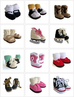 crochet booties for babies