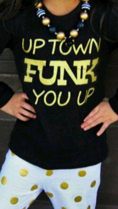 65fa0f370061ac Uptown funk you up shirt size 5-6 years old in Clothing