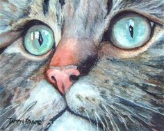 """Muffy"" - Original Fine Art for Sale - © Tammy Gagne"