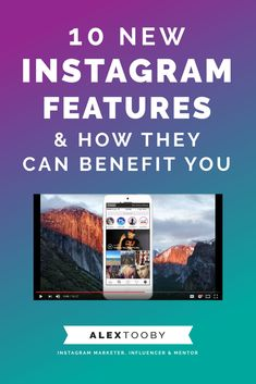 Instagram is constantly changing these days.. Stay on top of everything with the help of Instagram Expert, Alex Tooby. Learn what the 10 newest instagram features are and how you can use them to better your business. enjoy!