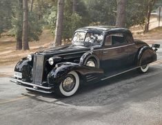 • 1934 Cadillac V16 Fleetwood coupe. 2007 Concours dElegance Tour #cars