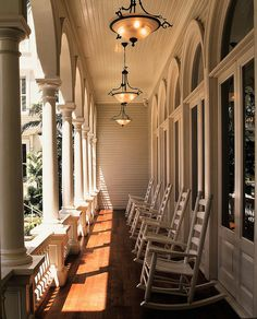 Porte Cochere Lanai   favorite place whenever I visit my grandmother in Charleston SC