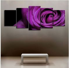 5128 handpainted 5 piece pick modern abstract decorative oil painting on canvas wall art rosepictures for living room as gift $52.00