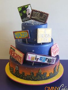 We would have to but Jersey Boys three times on the cake!