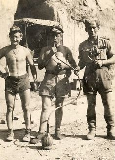Soldiers Of The Luftwaffe. Hot. Cocktail drink through a straw.