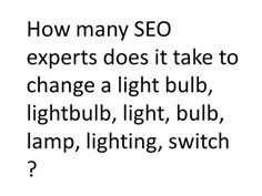Who remembers this #SEO joke? Hope it brightens up your mid-week blues. #WaybackWednesday