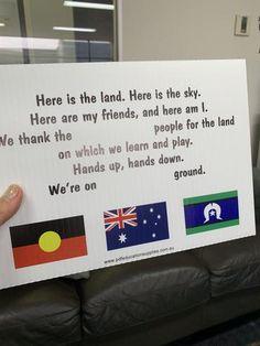 Acknowledgement for children – PDF Education Supplies Aboriginal Art For Kids, Aboriginal Education, Indigenous Education, Indigenous Games, Aboriginal Culture, Childcare Rooms, Childcare Activities, Kindergarten Activities, Preschool Activities
