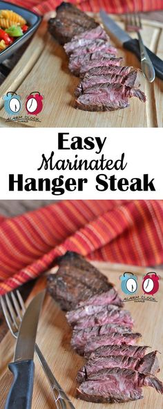 ... Marinated Hanger Steak recipe is hands-down my new favorite steak