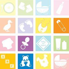 Kostenloses Bild auf Pixabay - Baby, Elemente, Zubehör, Satz