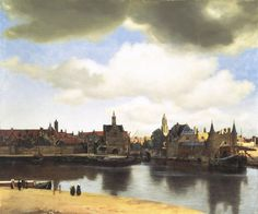 """Vermeer, View of Delft, 1659, is in the permanent collection of the Royal Picture Gallery Mauritshuis, home of """"Girl with a Pearl Earring"""" and the other 34 masterpieces in our current exhibition."""