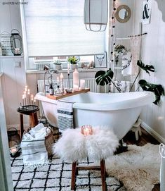 [New] The 10 Best Home Decor (with Pictures) - Some days you just need a relaxing long bath stay in your comfy clothes and pamper yourself to reboot your mind and body . Home Organisation, Home Decor Inspiration, Bathroom Spa, House, Apartment Decor, Home, Interior, White Interior, Home Decor
