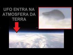 NASA FILMA UFO ENTRANDO NA ATMOSFERA DA TERRA