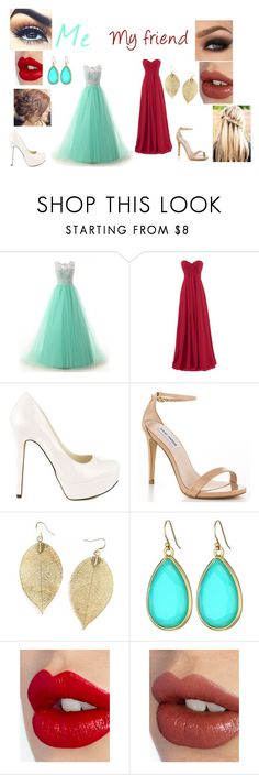 """""""Yule Ball(Harry Potter)"""" by depystyles13 ❤ liked on Polyvore featuring Michael Antonio, Steve Madden, Kate Spade and Charlotte Tilbury"""