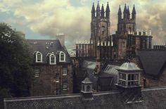 I want to see this from my window. Steeples, Edinburgh, Scotland photo via eurytale Edinburgh Castle, Edinburgh Scotland, Edinburgh Travel, Scotland Travel, Narnia, Places To Travel, Places To See, Travel Destinations, Beautiful World