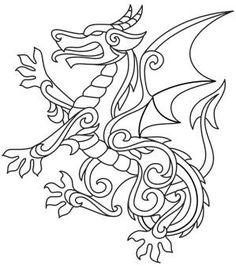 Dragon Smoke free printable coloring page  Free Printable