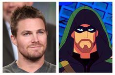 Green Arrow--Although mainly  seen as the live action, televised version of the character on the CW. I genuinely cannot imagine Green Arrow any other way but his performance. Stephen Amell approached the character in a way that Oliver Queen has never been directed before. The voice is rough, and the voice synthesizer is a nice touch to the vigilante. Hands down my favorite version of the character. Stephen Amell all around brings a great portrayal of the character, voice and all…