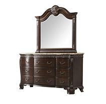 Victoria Dresser and Mirror