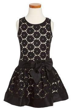 Zunie Sleeveless Lace Dress (Toddler Girls, Little Girls & Big Girls) available at #Nordstrom