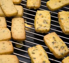 Christmas in Provence Cookies - I made these and they're fantastic. Cookie recipe - added the extract with the other wet ingredients (it missed that). The glaze recipe is a little off, need to use a lot more  fresh OJ.